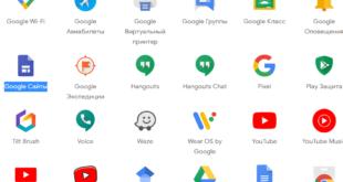 как создать сайт в гугле на телефоне