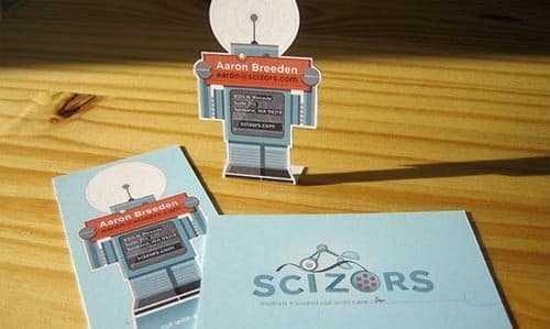 Визитка-робот