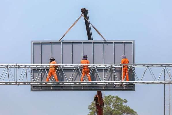Бизнес-идея - монтаж рекламных конструкций
