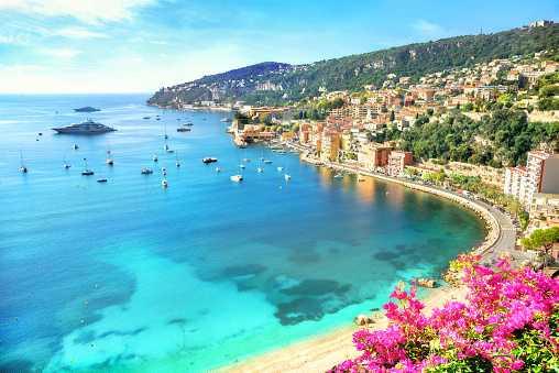 курорт Франции Монако