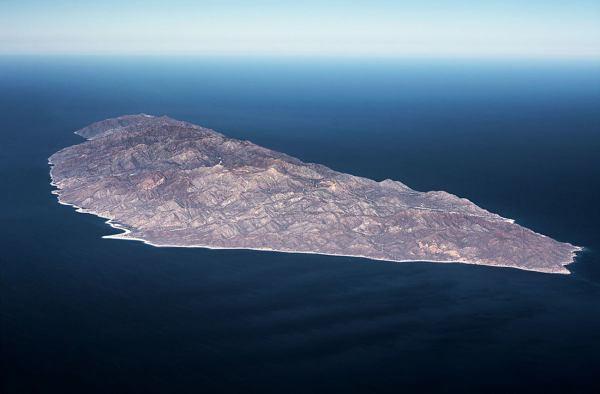Остров Серральво, Мексика
