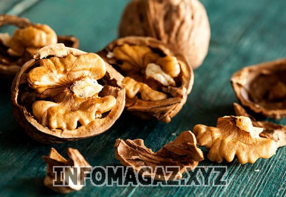Производство очищенного грецкого ореха